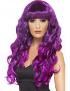 Vous aimerez aussi : Perruque sirène bouclée violette femme