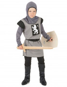 Déguisement chevalier médiéval gris garçon