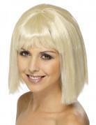 Vous aimerez aussi : Perruque blonde au carré avec frange femme