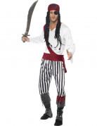 Vous aimerez aussi : Déguisement pirate avec bandana rouge homme