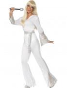 Déguisement disco blanc femme