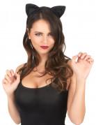 Oreilles de chat noires