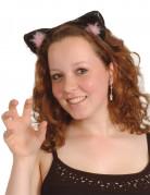 Vous aimerez aussi : Oreilles de chat noires et roses