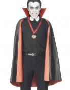 Vous aimerez aussi : Cape réversible vampire rouge ou noire homme Halloween