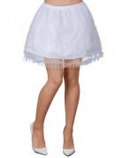 Vous aimerez aussi : Jupon blanc avec dentelle femme
