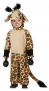 Déguisement girafe marron et noire enfant