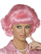 Perruque rose Grease™ femme