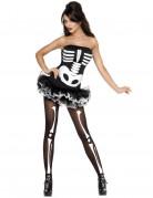 Déguisement squelette sexyfemme avec tutu Halloween