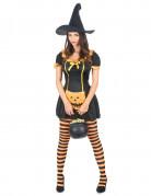 Vous aimerez aussi : Déguisement sorcière citrouille femme Halloween