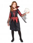 Déguisement vampire satiné fille Halloween