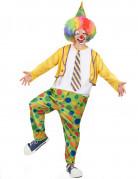 Déguisement clown festif homme