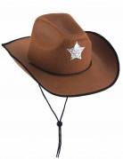 Vous aimerez aussi : Chapeau sheriff marron