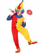 D�guisement clown bicolore homme