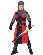 Déguisement chevalier rouge et noir garçon
