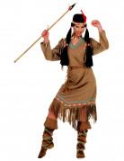 Déguisement indienne manches longues femme