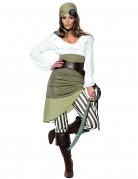 Vous aimerez aussi : Déguisement pirate vert et blanc femme