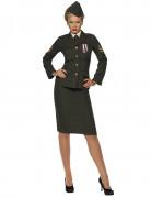 Déguisement officier militaire femme
