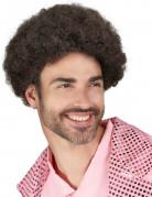 Vous aimerez aussi : Perruque disco marron homme