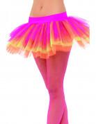 Tutu multicolore fluo de ballerine femme