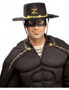 Chapeau et masque Zorro™ adulte