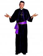 Déguisement prêtre avec pèlerine homme