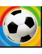 Vous aimerez aussi : 16 Serviettes en papier Football 33 x 33 cm