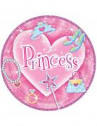 8 Assiettes princesse