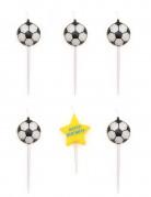 Vous aimerez aussi : 5 Bougies d'anniversaire ballons de foot