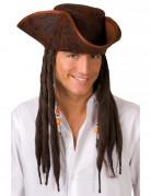 Vous aimerez aussi : Chapeau tricorne pirate marron adulte