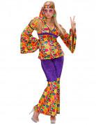Vous aimerez aussi : Déguisement hippie motif fleuris femme