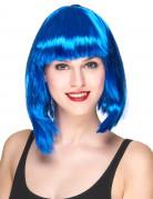 Vous aimerez aussi : Perruque carré mi-long bleue femme