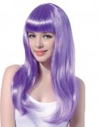 Vous aimerez aussi : Perruque longue violette pâle à frange femme