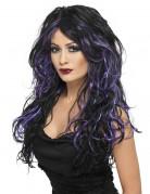 Vous aimerez aussi : Perruque noire avec mèches violettes femme