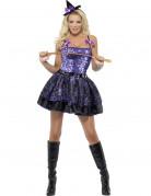 Vous aimerez aussi : Déguisement sorcière à sequins sexy femme Halloween