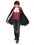 Déguisement vampire garçon rouge Halloween