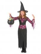 Déguisement sorcière avec chapeau fille Halloween