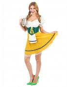 Déguisement bavaroise jaune femme