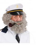 Barbe et moustache de marin homme