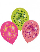 6 Ballons chevaux