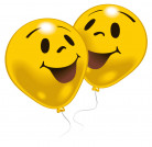 10 Ballons smiley