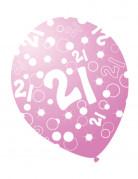Vous aimerez aussi : 6 Ballons âges nacrés rose