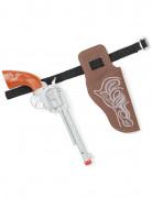 Vous aimerez aussi : Pistolet et ceinture de cow-boy en plastique enfant