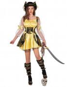 Vous aimerez aussi : Déguisement pirate jaune femme