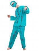 Vous aimerez aussi : Déguisement chirurgien zombie Halloween adulte