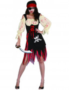 Vous aimerez aussi : Déguisement pirate zombie adulte Halloween pour femme