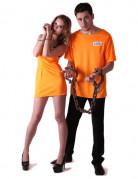 Vous aimerez aussi : Déguisement couple prisonniers oranges