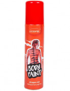 Spray corps et cheveux rouge