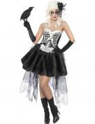Vous aimerez aussi : Déguisement squelette gothique femme Halloween