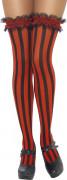 Vous aimerez aussi : Bas rayés rouge et noir femme