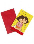 Vous aimerez aussi : 6 cartes d'invitation Dora l'Exploratrice™